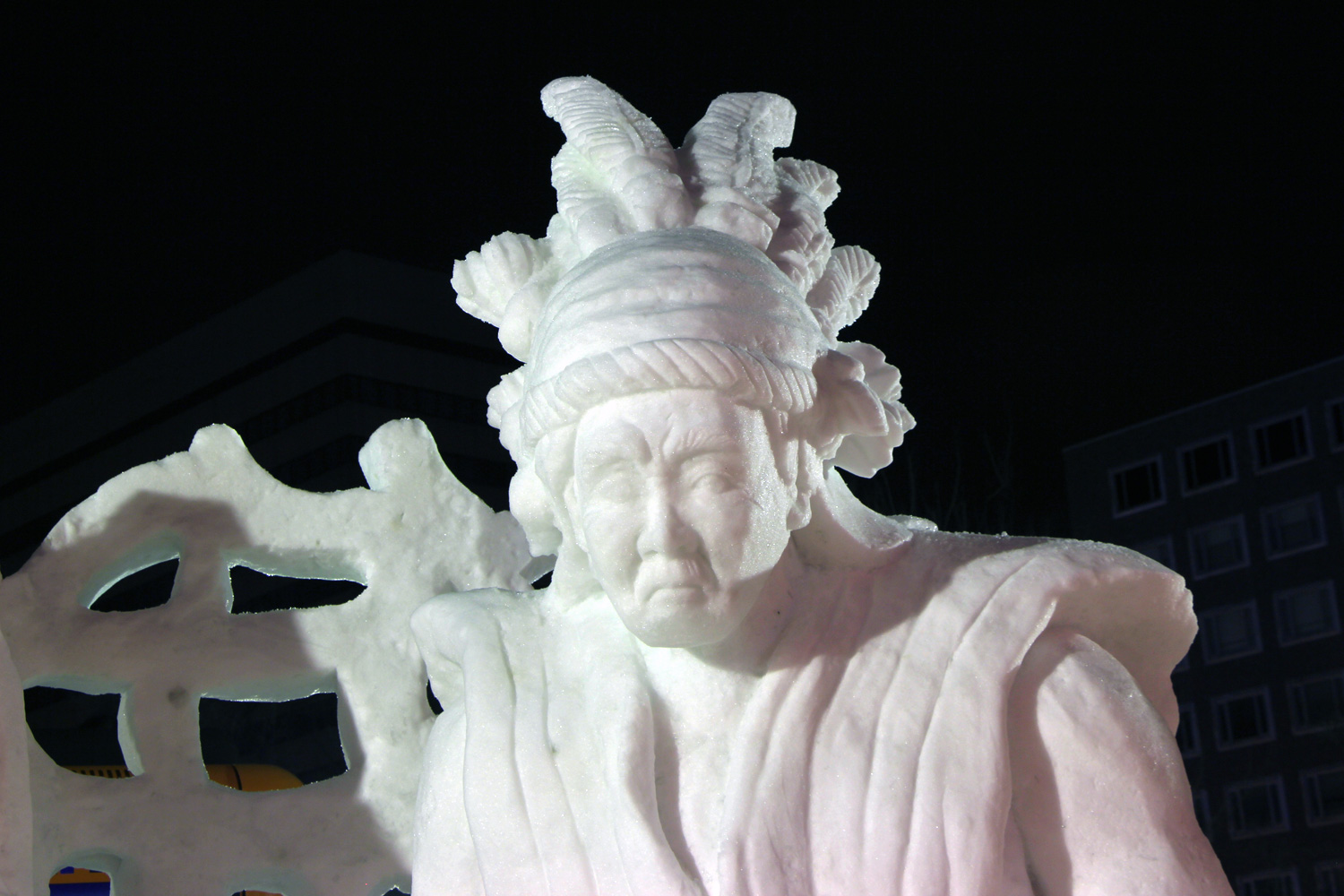 Malaysia:The Kenyah/The 42nd International Snow Sculpture Contest 2015(SAPPORO SNOW FESTIVAL)