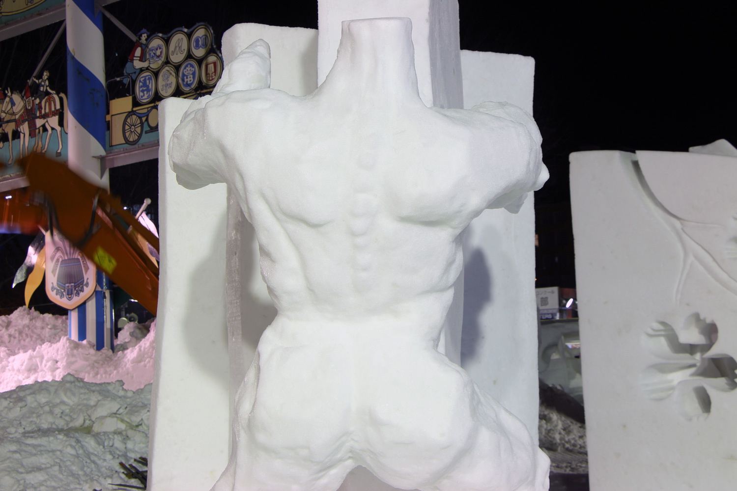 Poland:Touch-And-Go/The 42nd International Snow Sculpture Contest 2015(SAPPORO SNOW FESTIVAL)