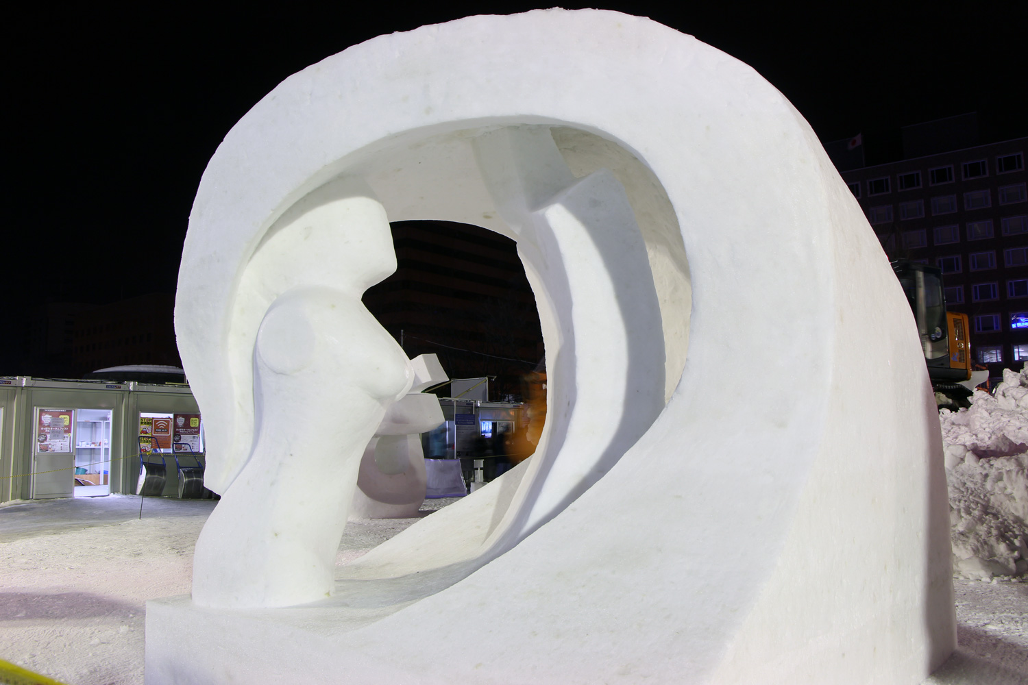 Finland:Yearning/The 42nd International Snow Sculpture Contest 2015(SAPPORO SNOW FESTIVAL)