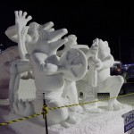 Indonesia:The Voice Of Nature/The 42nd International Snow Sculpture Contest 2015(SAPPORO SNOW FESTIVAL)
